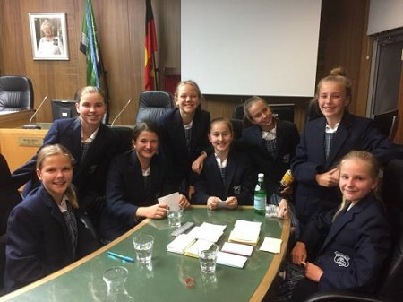 Hunters Hill public school competes in two debating competitions
