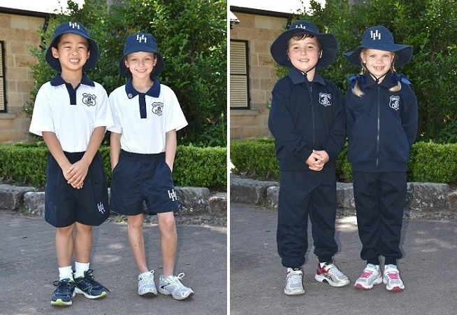 Hunters Hill Summer and Winter Sports Uniform